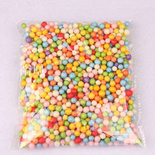 10000pcs Assorted Colors Crafts Polystyrene Styrofoam Filler Foam Mini Seed Beads Balls For Home decoration Diy Gift Accessories