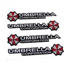 4pcs Fashion Umbrella Car Stickers Decal Cover Waterproof Auto styling On Car Door Handerbar Decor
