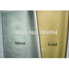 50x66cm,100pcs/lot,Silver&Gold tissue paper / wine,shirt,bag,shoes wrapping paper /gift packing material