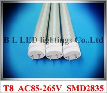 LED tube light lamp SMD2835 600mm 9W 1100lm / 900mm 15W 1600lm / 1200mm 20W 2400lm / 1500mm 30W 3500lm T8 G13 AC85-265V CE ROHS