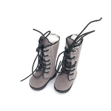 Tilda 3.2cm Doll Boots for Blythe Doll Toy,1/8 Mini Canvas Dolls Shoes for BJD,Casual Doll Shoes Accessories One Pair