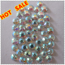SS 20 Hot fix rhinestone crystal  AB  for summer clothes women 2014  by China post air mail free shipping