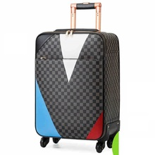 Famous brand busincess Man luggage for fashion male rolling luggage travel bag abording box