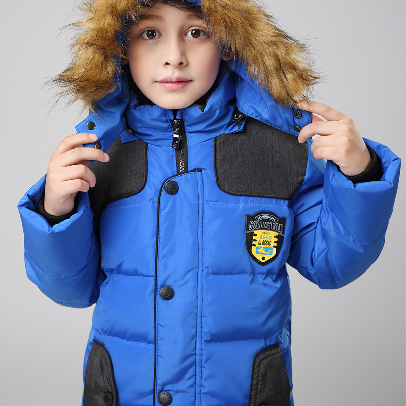2017 new childrens down jacket boy in the thick section coat collar large winter jacket childrens clothing down HT187Одежда и ак�е��уары<br><br><br>Aliexpress