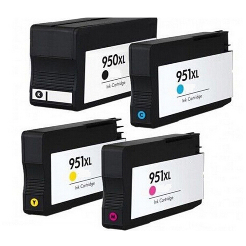 4x Compatible HP 950 951 XL ink Cartridge for 950XL 951XL hp Officejet pro 8100 8610 8620 8630 8600 plus<br><br>Aliexpress