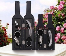Wine Opener sets of steel gifts stainless steel hippocampus bottle modeling creative wedding gifts
