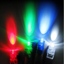 500pcs Plastic LED Finger Light Glowing Dazzle Colour Laser Emitting Beams Ring Torch Wedding Party Christmas Decoration ZA1180