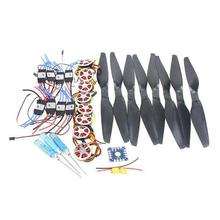 F05423-D 8-Axis Foldable Rack RC Helicopter Kit KK Connection Board+350KV Brushless Disk Motor+16x5.5 Propeller+40A ESC