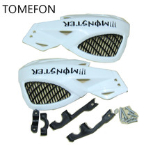 TOMEFON 22mm 7/8''Handguards Handlebar Hand Guards Fit Motorcycle Motocross Dirt Pit Bike OffRoad CRF450 YZF KXF KTM RMZ ATV
