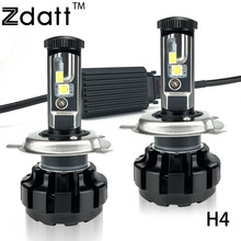 2Pcs Super Bright H4 Led Bulb 12000LM Headlight Canbus H7 H8 H9 H11 9005 HB3 Car Led Light 12V Hi Lo Beam Fog Automobiles