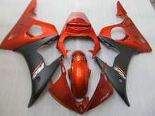 Motorcycle Fairing kit for YZFR6 03 04 05 YZF R6 2003 2004 2005 YZF600 red matte black ABS Fairings set+7gifts YN01