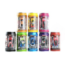 New Coke Can Style Remote Control Micro Racing Car Kid's desktop Toys Gifts ZL01900(China)