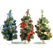 30/45cm DIY Christmas Tree Green Artificial Christmas Trees Decorative Xmas Trees Home Christmas Wedding Party Decoration L10