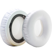 Poyatu Replacement Earpads for Beats by Dr. Dre Solo & Solo HD Headphone Ear Pads  Ear Cushions Ear Cups Ear Cover White