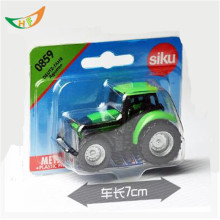 Hot Sk valtra sales mini farm fendt tractor used 1: 55 metal scale model kids toys christmas gift oyuncak trator trailer truck(China)