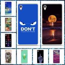 Fashion Painted Soft TPU Back Cover for Sony Xperia Z5 Premium Cases Cell Phone Protective Case for Sony Z5 Plus Silicon Cover