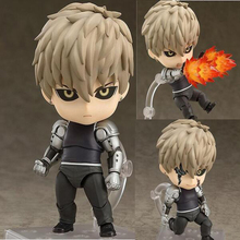 Anime one punch-man Genos cartoon Nendoroid model figure collection 10cm cute Movable joints figurine with box T7026(China)