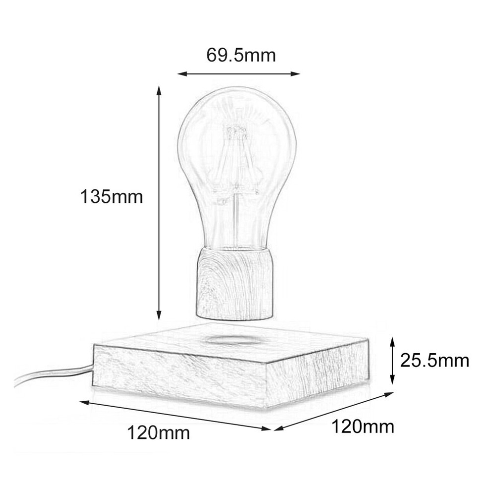 Maglev Wood Light Bulbs6