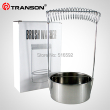 Transon Stainless Steel Brush Washer, wash brush and hang brush, painting tool, quality art supplier, Good quality.Wholesale