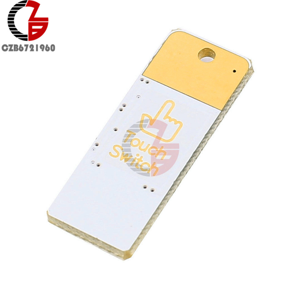 Bulb Card Lamp Keychain White Pocket Mini USB Touch switch 4LED Night Light NEW