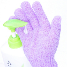 Bathwater Scrubbing Gloves Bath Gloves Shower Exfoliating Bath Glove Scrubber Skid resistance Body Massage Sponge Gloves