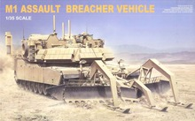 1/35 Scale RMF RM-5011 M1 ABV Assault Breacher Vehicle Plastic Model Building Kit(China)