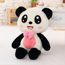120cm Oversized Panda Doll Cute Black and White Panda Toy Giant Plush Hug Bear Doll for Christmas presents Juguetes Brinquedos(China)
