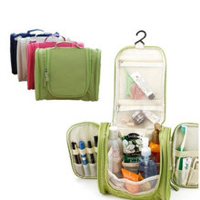 Portable Makeup Make up Toiletry Washing Cosmetic Bag Oxford Compartment Organizer Storage Hanging Travel Kit Hand bag Bulk