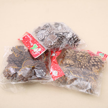 90pcs Real Natural Small Pine Cones Christmas Ornaments Xmas Festival Party Home Decor Navidad Decoracion Christmas Decoration(China)