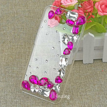 Fashional Bling Colorful Style Cute Cartoon Pattern Diamond Cell Phone Case Cover for Huawei Y6 PRO