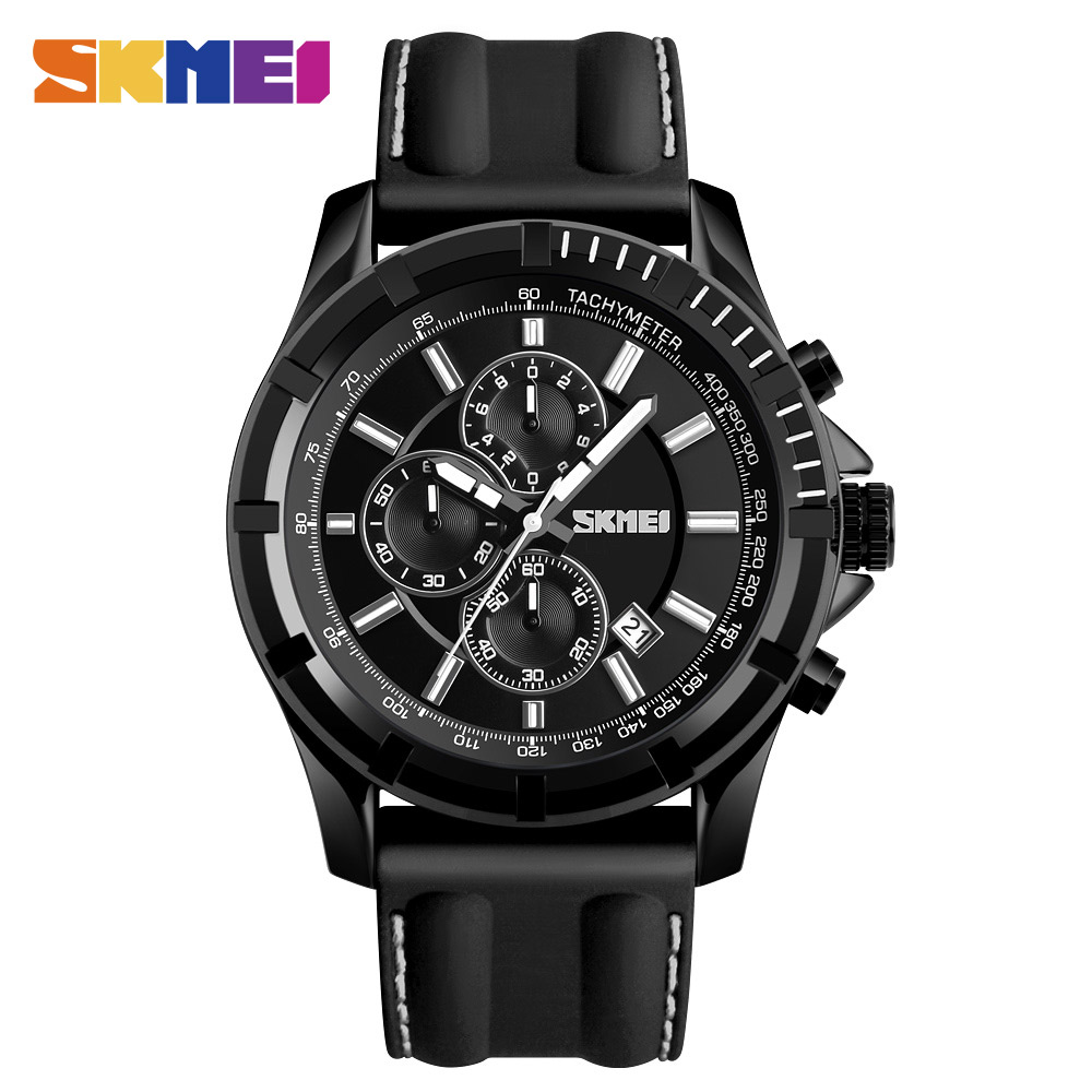 SKMEI Outdoor Sports Man Watch Alloy Silicone Quartz Men Watches Waterproof Stopwatch Calendar Wirstwatches Relogio masculino <br>