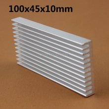1pieces 100x45x10mm Aluminum Heatsink for Electronics Computer Electric Equipment(China)