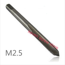 10 Pcs / Lot M2 M2.5 M3 M4 M5 M6  Machine Spiral Point Straight Fluted Screw Thread Metric Plug Hand Tap Drill