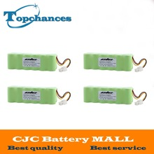 High Quality 4PCS 14.4V 3000mAh Ni-MH Rechargeable Battery For Samsung NAVIBOT VCR8875 14.4 Volt Free Shipping