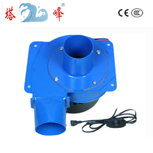 Free shipping China 20w gas smoke hot air discharge blower small centrifugal draft fan stepless speed regulator(China)