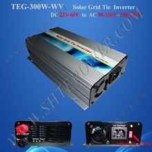 300w 24v 120v grid tie inverter,solar power inverter with switch