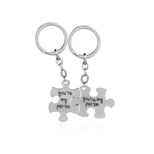 Grey Anatomy key rings You Are My Person keychains Lovers  Best Friend Statement car key holder mothers day Gift for mom dad sis