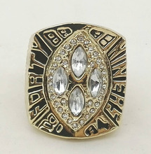 Factory Direct Sale New Fashion Classic Replica Super Bowl 1989 San Francisco 49ers Championship Ring for Fans(China)