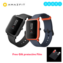 "100% Original Huami Amazfit BIP BIT PACE 45 days standby Youth Smartwatch IP68 Waterproof GPS Smart Watch 1.28"" Color Screen"