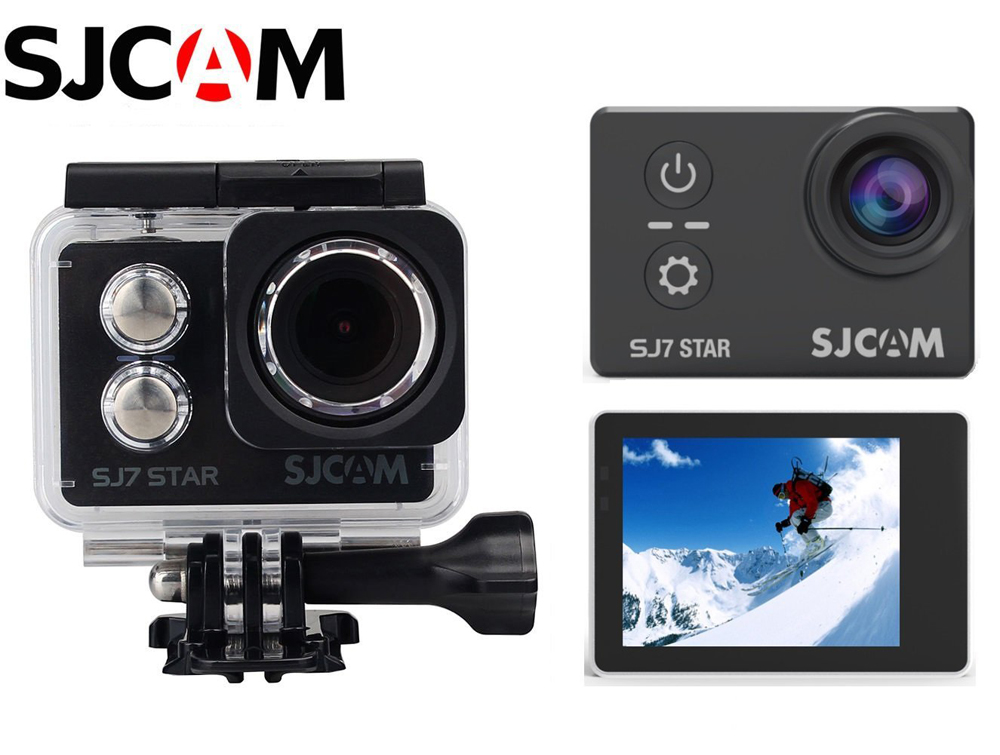 3 SJCAM SJ7 Star 4K Wifi Sports Action Camera