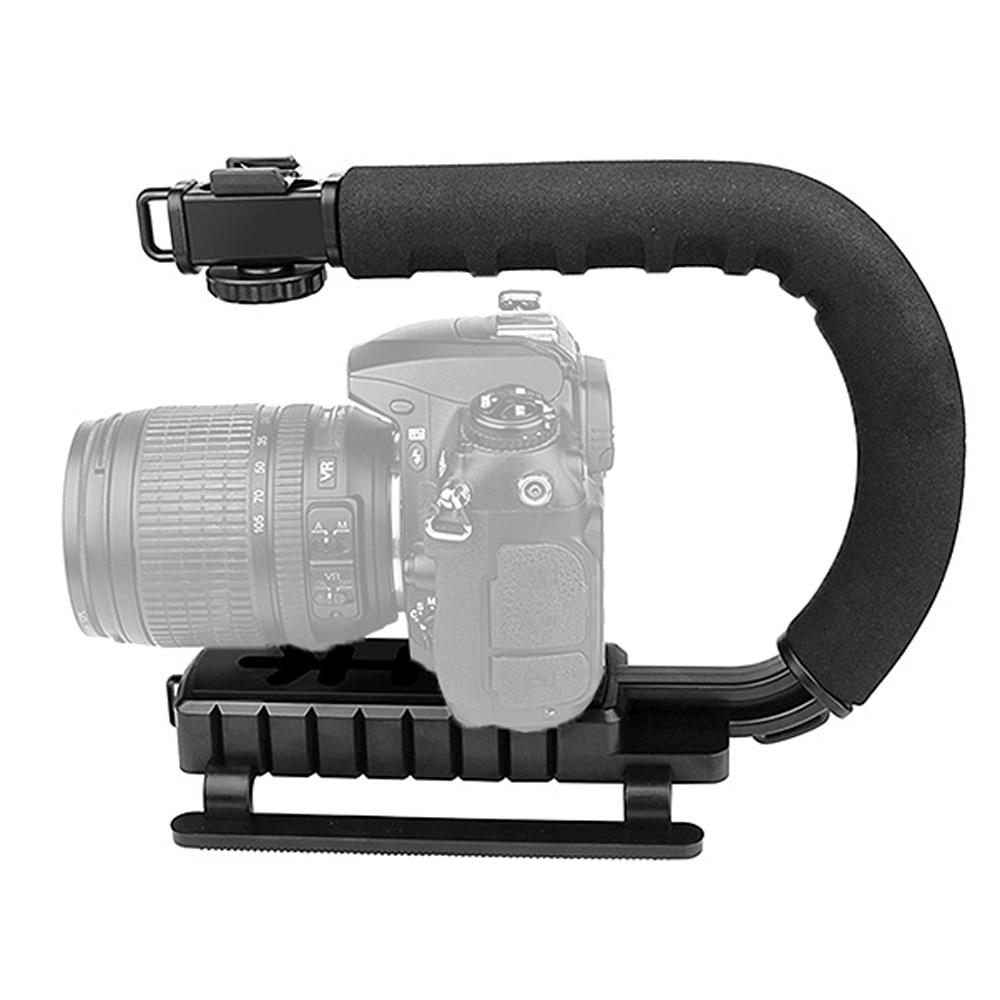 WEIHONG Stabilizer C-Shape Mount Holder Handle for DSLR//Camcorder DV WEIHONG