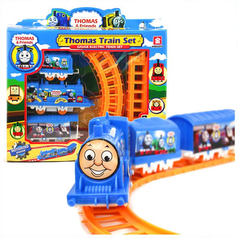 Thomas Train Electric Railway Rail Track Train Thomas And Friends Boy Toy Car Hot Wheels Cars Machines Kids Toys for Children(China)