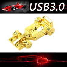 High Speed Usb 3.0 8GB 16G 32G Usb Flash Drive Pen Drive 64GB Memory Stick F1 Race Car Automobile Pendrives Disk On Key 64GB(China)