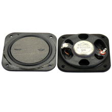 2pcs Full Range Speaker 3 inch 8 ohm 15 W Flat Neodymium Speaker for Home Theater Speakers LCD TV Advertising Machine