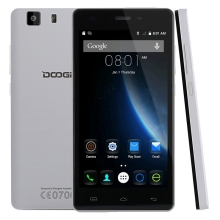 DOOGEE X5 3G WCDMA Unlocked Phone Android 5.1 MT6580 Quad Core 1.3GHz 8GB ROM 1GB RAM 2400mAh Battery 8.0MP+5MP 5.0 inch GPS(China)