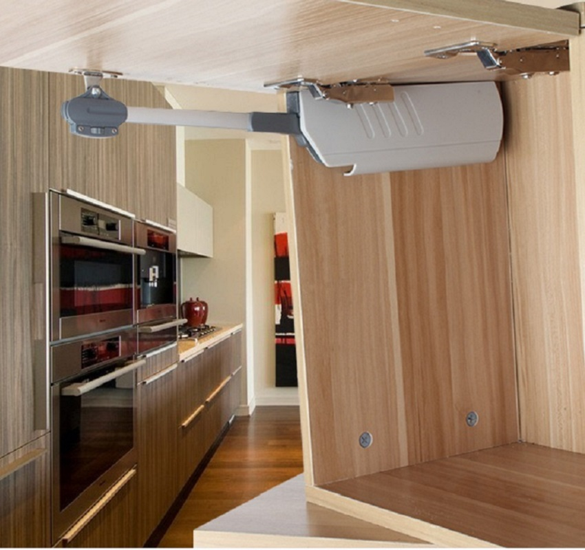 Adjustable Hydraulic Flap Stay Soft Down Lid Stay Cabinet Cupboard  Lift Up Support Strut<br>
