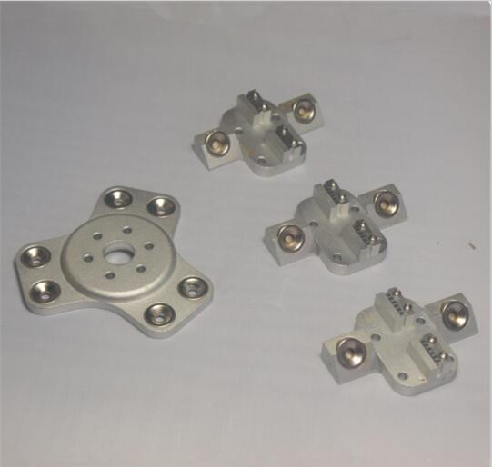 Delta Rostock mini Kossel   aluminum magnetic effector, carriage kit silver color anodized For DIY Kossel 3d printer<br><br>Aliexpress