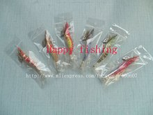 Luminous Squid Jig wood shrimp Sample Set Enjoy Retail Convinenc at Wholesale Price