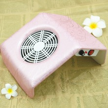 Pink Nail Dust Suction Dust Collector Fan Vacuum Cleaner Manicure Machine Tools Dust Collecting Bag Nail Salon Equipment Tools(China)