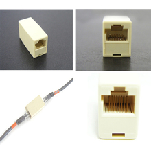 xintylink 20pcs female RJ45 connector cat5e cat6 ethernet cable connector adaptor network double head rj45 socket jack joint